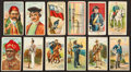 Non-Sport Cards:Lots, 1910-Era Tobacco and Caramel Non-Sports Card Collection (84). ...