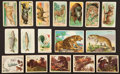 Non-Sport Cards:Lots, 1910's-1930's Non-Sports Card Collection (131) - Animals. ...