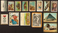 "Non-Sport Cards:Lots, 1910's Multi-Theme ""T"" ""W"" and ""E"" Non-Sports Collection (80). ..."
