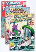 Silver Age (1956-1969):Science Fiction, Strange Adventures Group (DC, 1960-61) Condition: Average VG/FN....(Total: 8 Comic Books)
