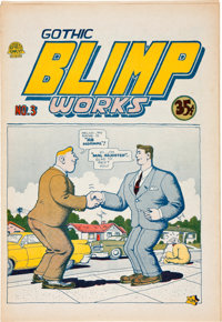 Gothic Blimp Works #3 (East Village Other, 1969) Condition: NM-