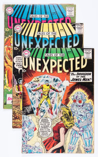 Tales of the Unexpected Group (DC, 1960-61) Condition: Average VG/FN.... (Total: 8 Comic Books)