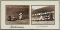 Baseball Collectibles:Photos, Ted Williams and Joe DiMaggio Multi Signed Photograph Display....