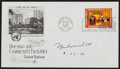 Boxing Collectibles:Autographs, Muhammad Ali Signed First Day Cover. ...