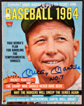 "Baseball Collectibles:Publications, Mickey Mantle ""No. 7"" Signed Magazine...."
