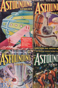 Pulps:Science Fiction, Astounding Stories Group (Street & Smith, 1938-39) Condition:Average VG-.... (Total: 5 Comic Books)