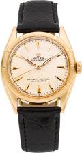 Timepieces:Wristwatch, Rolex 18k Rose Gold Ref. 6085 Vintage Oyster Perpetual, circa 1948. ...