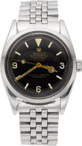 Timepieces:Wristwatch, Rolex Ref. 6610 Vintage Oyster Perpetual Explorer, circa 1956. ...