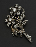 Estate Jewelry:Brooches - Pins, Vintage Mallorca Floral Spray Brooch. ...