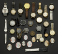 "Timepieces:Other , ""This Is All The Rest"" A Large Grab Box Of Leftover's From A Watch Group. ... (Total: 50 Items)"