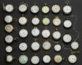 Timepieces:Pocket (post 1900), A Lot Of Sixty Five Swiss Pocket Watches For Parts Or Repair. ...(Total: 65 Items)