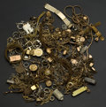 Timepieces:Watch Chains & Fobs, Box Of Watch Chains . ... (Total: 30 Items)