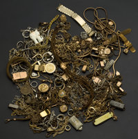 Box Of Watch Chains