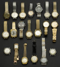 Timepieces:Wristwatch, A Lot Of Twenty Assorted Vintage Swiss Wristwatches. ... (Total: 20Items)