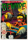 Golden Age (1938-1955):Horror, Beware #11 (Youthful Magazines, 1952) Condition: VG/FN....