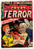 Golden Age (1938-1955):Horror, Three Dimensional Tales from the Crypt of Terror #2 (EC, 1954)Condition: GD-....