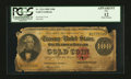 Large Size:Gold Certificates, Fr. 1214 $100 1882 Gold Certificate PCGS Apparent Fine 12.. ...