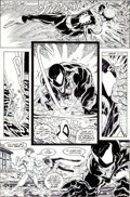 Original Comic Art:Panel Pages, Todd McFarlane The Amazing Spider-Man #317 Page 27 OriginalArt (Marvel, 1989)....