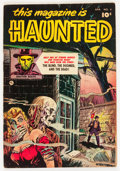 Golden Age (1938-1955):Horror, This Magazine Is Haunted #4 (Fawcett Publications, 1952) Condition:VG+....