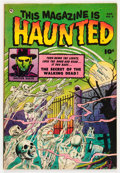Golden Age (1938-1955):Horror, This Magazine Is Haunted #6 (Fawcett Publications, 1952) Condition:FN/VF....