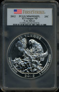 Modern Bullion Coins, 2012 25C 2012 El Yunque National Park Five Ounce Silver-OunceSilver, First Strike MS69 Deep Mirror Prooflike PCGS. PCGS Po...