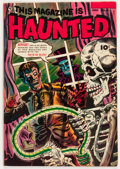 Golden Age (1938-1955):Horror, This Magazine Is Haunted #11 (Fawcett Publications, 1953)Condition: FN....