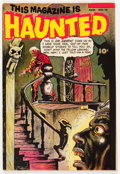 Golden Age (1938-1955):Horror, This Magazine Is Haunted #12 (Fawcett Publications, 1953)Condition: FN....