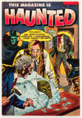 Golden Age (1938-1955):Horror, This Magazine Is Haunted #13 (Fawcett Publications, 1953)Condition: VG/FN....