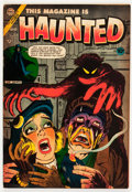 Golden Age (1938-1955):Horror, This Magazine Is Haunted #17 (Charlton, 1954) Condition: FN....