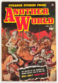Golden Age (1938-1955):Horror, Strange Stories from Another World #2 (Fawcett Publications, 1952)Condition: VG/FN....