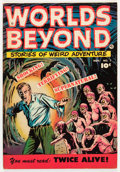 Golden Age (1938-1955):Horror, Worlds Beyond #1 (Fawcett Publications, 1951) Condition: VG+....
