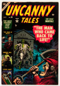 Golden Age (1938-1955):Horror, Uncanny Tales #10 (Atlas, 1953) Condition: FN....