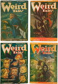 Pulps:Horror, Weird Tales Box Lot (Popular Fiction, 1946-53) Condition: AverageGD/VG....