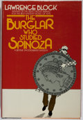 Books:Mystery & Detective Fiction, Lawrence Block. SIGNED. The Burglar Who Studied Spinoza. NewYork: Random House, 1980. First edition. Signed on th...