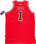 Basketball Collectibles:Uniforms, Derrick Rose Signed Chicago Bulls Jersey....