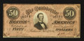 Confederate Notes:1864 Issues, T66 $50 1864 PF-2 Cr. 495.. ...