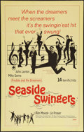 "Movie Posters:Rock and Roll, Seaside Swingers (Embassy, 1965). One Sheet (27"" X 41""). Rock andRoll.. ..."