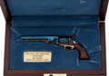 Handguns:Muzzle loading, Boxed and Cased Miniature Colt Model 1851 Navy Percussion Revolverby the United States Historical Society....