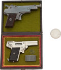 Handguns:Semiautomatic Pistol, Lot of Two Miniature Semi-Automatic Pistols....