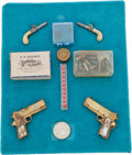 Handguns:Muzzle loading, Lot of Assorted Miniature Firearms and Accessories....