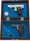Handguns:Semiautomatic Pistol, Lot of Three Assorted Miniature Semi-Automatic Pistols.... (Total:3 Items)