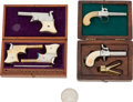 Handguns:Muzzle loading, Lot of Assorted Miniature Firearms.... (Total: 2 Items)