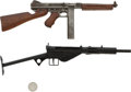 Long Guns:Bolt Action, Lot of Two Miniature Firearms.... (Total: 2 Items)
