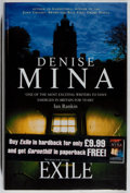Books:Horror & Supernatural, Denise Mina. SIGNED. Exile. London: Bantam, [2000]. First edition. Signed by Mina on the title-page. Publish...