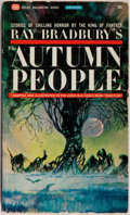 Books:Horror & Supernatural, Ray Bradbury. The Autumn People. New York: Ballantine,[1965]. First Ballantine edition and first illustrated bo...