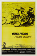 """Movie Posters:Drama, Easy Rider (Columbia, 1969 and R-1972). One Sheets (2) (27"""" X 41"""") Style B and Regular Style. Drama.. ... (Total: 2 Items)"""