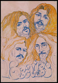 """Movie Posters:Rock and Roll, Beatles Promo Poster (c. 1970). Poster (20"""" X 28.75""""). Musical...."""
