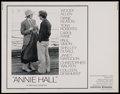 "Movie Posters:Academy Award Winner, Annie Hall (United Artists, 1977). Half Sheet (22"" X 28""). Academy Award Winner. ..."