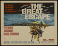 """Movie Posters:War, The Great Escape (United Artists, 1963). Half Sheet (22"""" X 28"""").War. ...."""