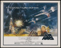 "Movie Posters:Science Fiction, Star Wars (20th Century Fox, 1977). Half Sheet (22"" X 28""). Science Fiction. ..."